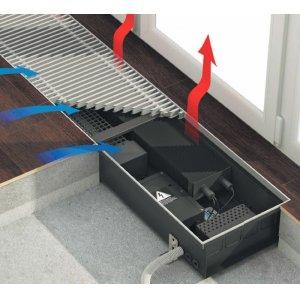 Конвекторы встраиваемые в пол  Qtherm Electro